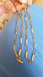 Cordão de Ouro Cartier 18k 750 De R$ 2.400 Por R$2.200