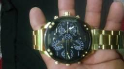 Relógio Militar, relógio de aço Oversized