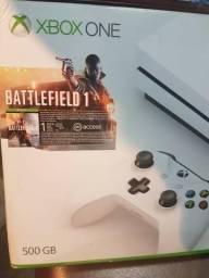 Video Game Xbox One 500 Gb novo na caixa com Battlefield