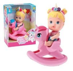 Boneca Little Dolls Balancinho