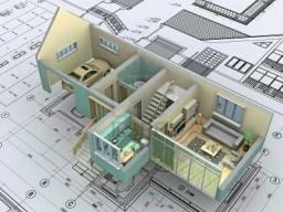 Projetos Completos Residenciais - Projetista Cadista