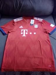 Camiseta Oficial Bayern de Munique 18 19 99d00bf04b275