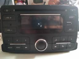 Rádio Som automotivo original carro Logan