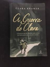 Livro A Guerra de Clara