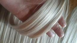 Mega Hair Loiro 50cm na faixa