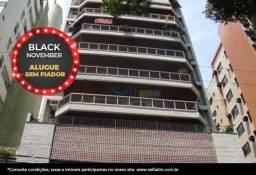 *ALUGUE SEM FIADOR - Apartamento com 3 dormitórios para alugar, 120 m² - Icaraí - Niterói/