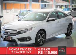 Honda Civic Sedan EXL 2.0 Flex 16V Aut.4p 2019 Flex
