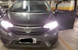 Vendo carro Honda Fit LX 2014/15 Cinza 43200km
