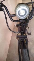 Bike eletrica 800 wats.cargueira semi-nova