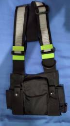 Chest bag/ bolsa refletiva, troco por sholder bag