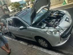 Recarga de gás pra carro
