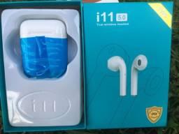Fone Bluetooth i11 - Fone em fio - Entregas grátis p/ todo Catalão