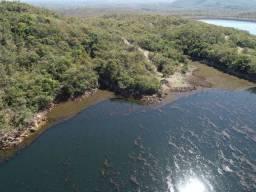 Lotes na beira do lago do manso