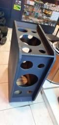 Caixa gabinete OTEC quadrilateral para 12 polegadas