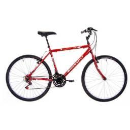 PREÇO IMPERDÍVEL!!! 02 bikes sem uso + BRINDE 2 suporte parede bike.