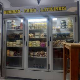 Refrigerador 3 portas vendo ou troco por maior