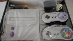 Super Nintendo Baby + 3 Jogos + 2 Controle + Caixa