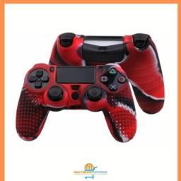 Capa de Silicone Personalizada para Controle PS4