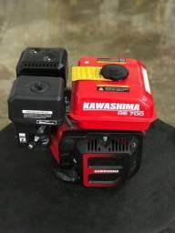 Motor Estacionário 4T 7HP 212CC à Gasolina - Kawashima GE-700