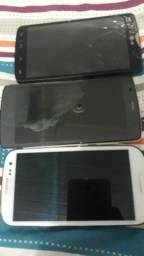 Samsung s3 Lg L80 TV e Zte blade L5 defeito