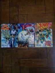 Coleção de revistas x-men