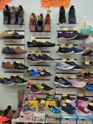 Estoque de loja de Calçados, masculino, feminino e infantil