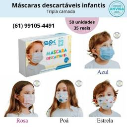 Máscaras Descartáveis Infantis