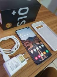 Samsung Galaxy s10 Plus Com Nota e Caixa