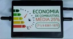 Economia De Combustível Média De 25%