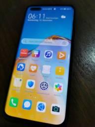 Huawei p40 pro 256gb quase sem uso