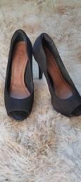 Sapato alto Preto