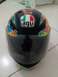 Capacete Agv Valentino Rossi MT bem conservado