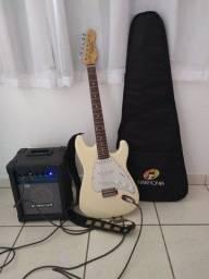 Guitarra dolphin e cubo oneal