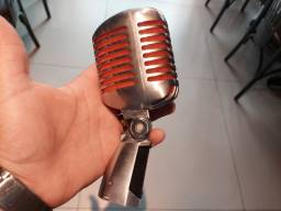 Microfone vintage shure super 55