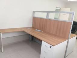 Mesas de Escritório  - Plataforma de 2 Lugares
