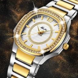 Relógio Fashion Girl em aço na Promoção