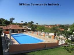 Chácara 1.050 m2 Condominio com portaria Casa e píscina ampla Ref. 419 Silva Corretor
