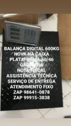 TODO EQUIPAMENTOS NOVOS BALANÇA DIGITAL 600kg NA CAIXA MODELO CHÃO SERVIÇO DOMICILIO