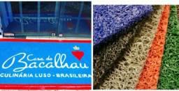 Dulkora capachos tapetes personalizados VULCANIZADO predial,comercial e residencial !