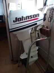 Vende-se motor de polpa + Canoa 5 metros borda alta