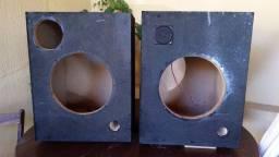 Caixas de som em MDF 20mm