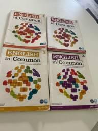 Livros de inglês utilizado no ICBEU