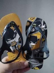 Novo chinelo Batman novo  25/26
