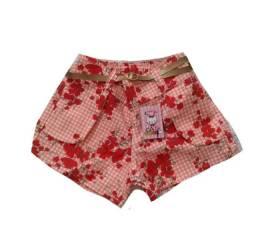 Shorts Brim Infantil Meninas 17,00 a Peça