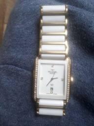 relógio semi novo modelo technos safira