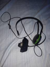 Adaptador fone de ouvido e microfone P2 para controle Xbox.