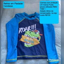 Camisa com proteção UV PUKET