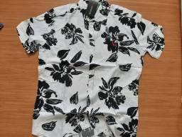 Camisa floral masculina M