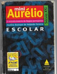 olx0047 mini aurélio lingua portuguesa escolar