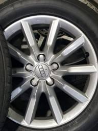 Título do anúncio: Vendo Jogo de Rodas Originais do Audi Q3 Aro 17